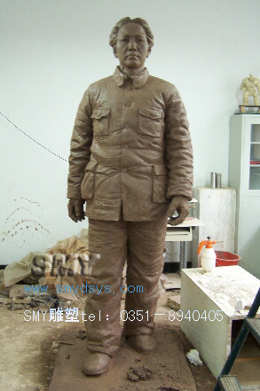 毛泽东像 毛泽东新万博最新版本下载   山西太原神秘源新万博最新版本下载公司提供订做